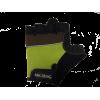 Перчатки черные-зеленые